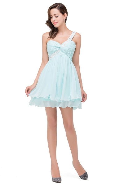 Attractive Sweetheart Chiffon A-line Homecoming Dress_8