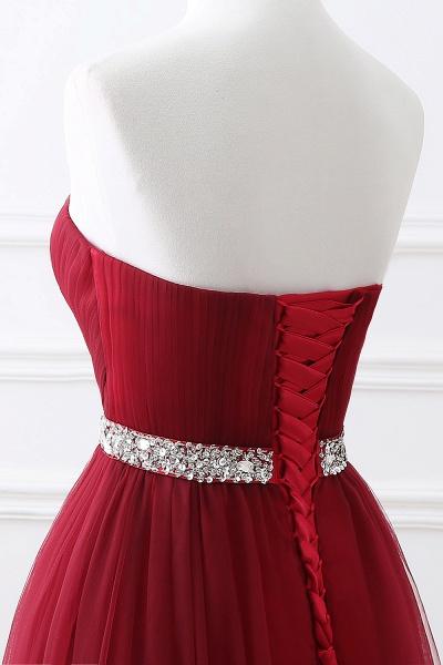 Glorious Strapless Organza A-line Evening Dress_14
