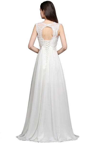 Sleek Sweetheart Chiffon A-line Evening Dress_3