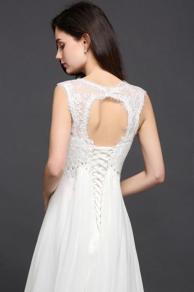 Sleek Sweetheart Chiffon A-line Evening Dress_6
