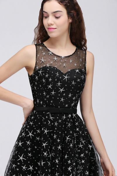 ALISHA   A Line Jewel Sheer Tulle Little Black Short Homecoming Dresses_6