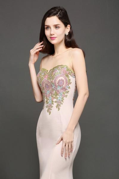 Marvelous Jewel Stretch Satin Mermaid Evening Dress_2