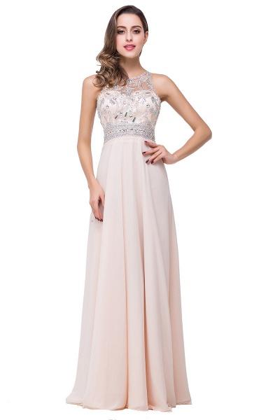 Eye-catching Jewel Chiffon A-line Evening Dress_2
