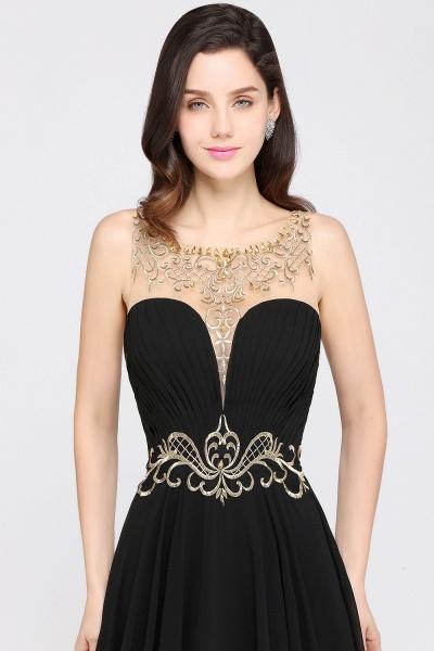 Awesome Jewel Chiffon A-line Evening Dress_4