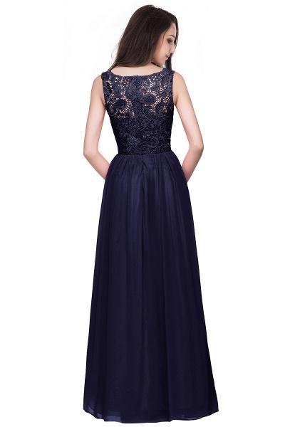 Fascinating Jewel Chiffon A-line Bridesmaid Dress_11