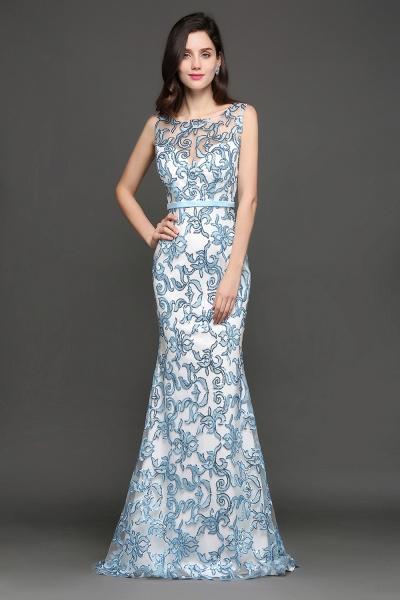 ARIADNE | Mermaid Sweep Train Lace Cheap Evening Dresses_5