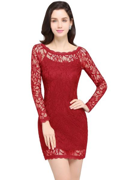 Amazing Jewel Lace Mermaid Bridesmaid Dress_1