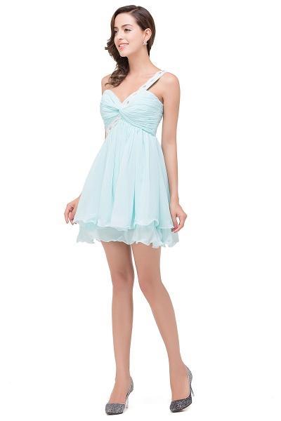Attractive Sweetheart Chiffon A-line Homecoming Dress_4