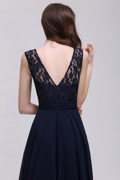 Eye-catching Scoop Chiffon A-line Evening Dress_6