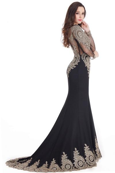 Beautiful Jewel Stretch Satin Mermaid Prom Dress_12