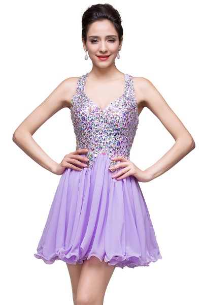 ELIANNA | A-line Sweetheart Short Sleeveless Chiffon Prom Dresses with Crystal Beads_10
