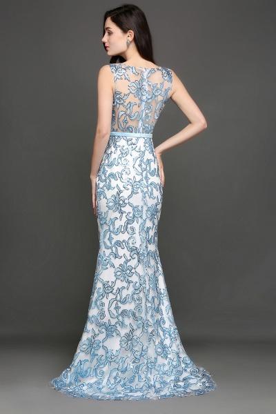 ARIADNE | Mermaid Sweep Train Lace Cheap Evening Dresses_8