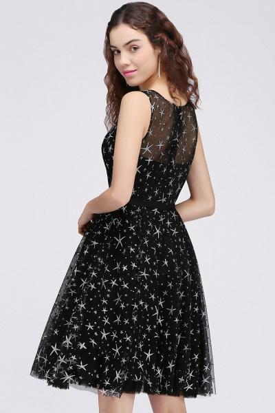ALISHA   A Line Jewel Sheer Tulle Little Black Short Homecoming Dresses_2