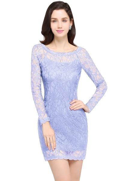 Amazing Jewel Lace Mermaid Bridesmaid Dress_4