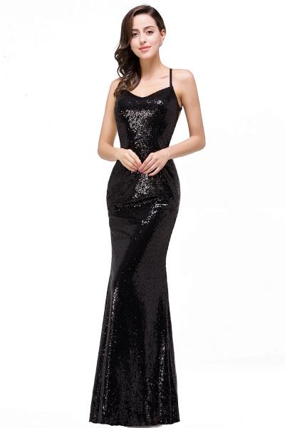 EMILY | Mermaid Sleeveless Sweetheart Floor-length Prom Dress with Sequins_5