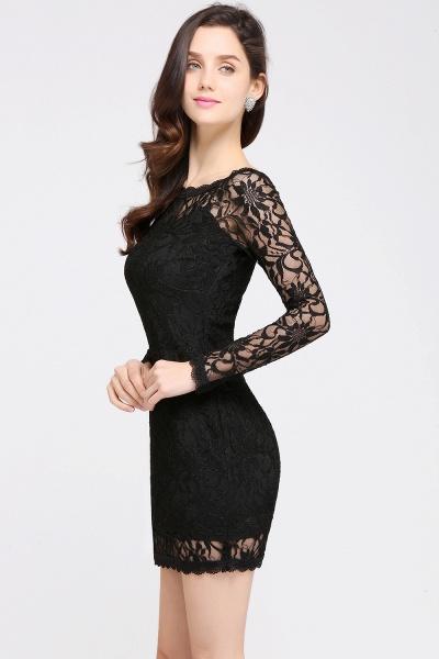 Amazing Jewel Lace Mermaid Bridesmaid Dress_11