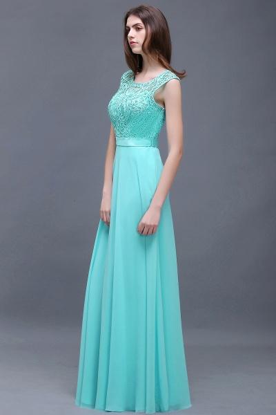 Affordable Jewel Chiffon A-line Evening Dress_6