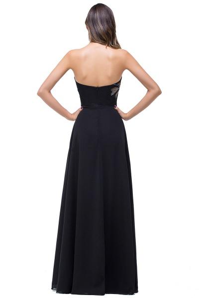 Exquisite Sweetheart Chiffon A-line Evening Dress_3