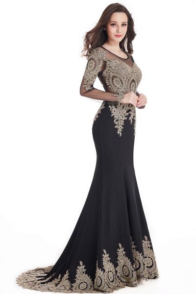 Beautiful Jewel Stretch Satin Mermaid Prom Dress_13