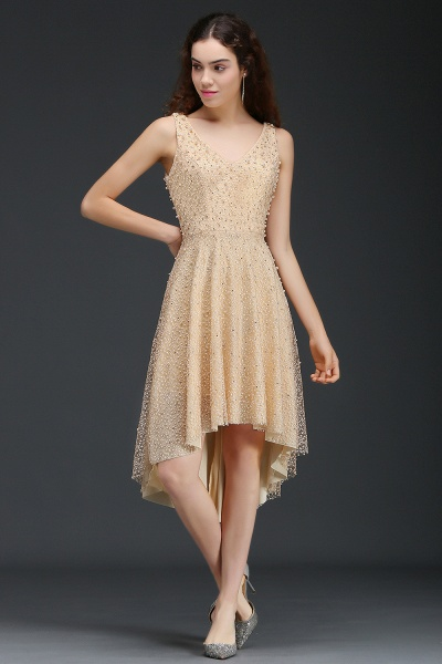 Attractive Straps Satin A-line Homecoming Dress_3