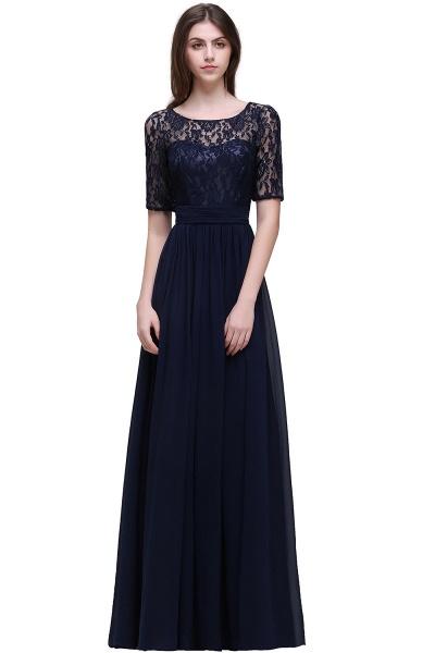 Fascinating Jewel Chiffon A-line Evening Dress_6