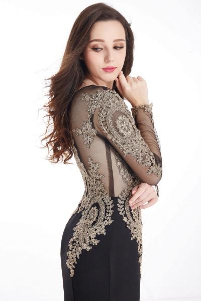 Beautiful Jewel Stretch Satin Mermaid Prom Dress_14