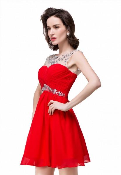 Precious Strapless Chiffon A-line Evening Dress_2