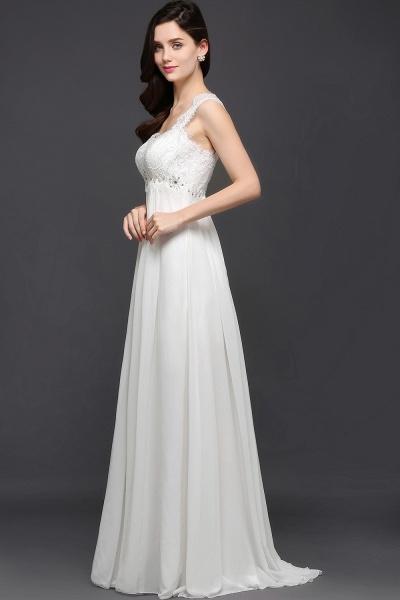 Sleek Sweetheart Chiffon A-line Evening Dress_5