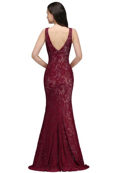Modest Jewel Lace Mermaid Evening Dress_3