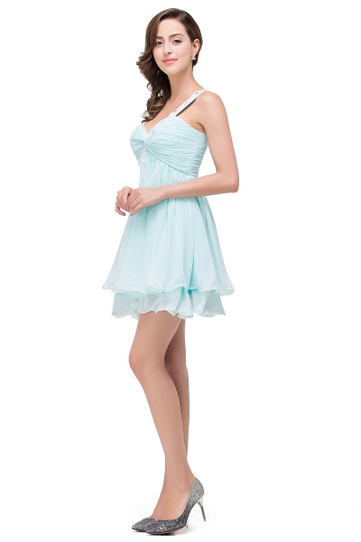 Attractive Sweetheart Chiffon A-line Homecoming Dress_3
