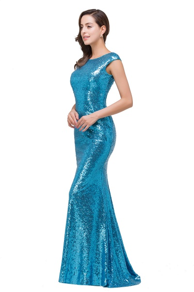 EVELYNN | Mermaid Floor-Length Sleeveless Scoop Sequins Prom Dresses_5