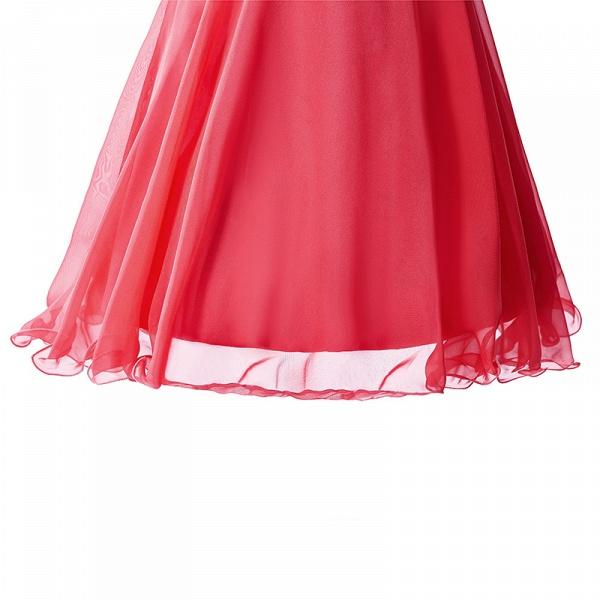 Elegant One Shoulder Chiffon A-line Evening Dress_4