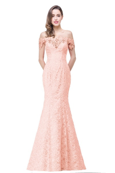 EMMALYNN | Mermaid Off Shoulder  Floor-Length Lace Bridesmaid Dresses_3