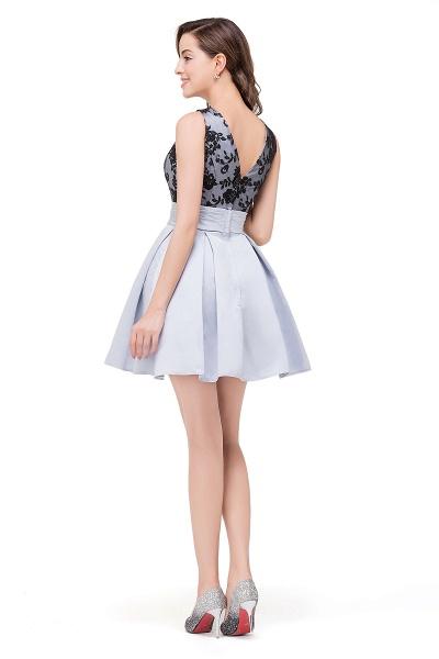 FELICITY | A-Line Crew Sleeveless Short Appliques Prom Dresses_3