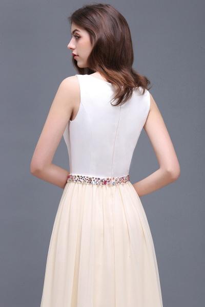 ALAYA   Sheath Jewel White Long Evening Dresses With Beads_7