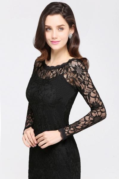Amazing Jewel Lace Mermaid Bridesmaid Dress_13