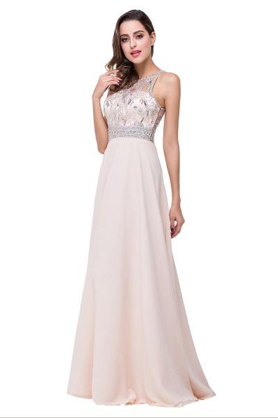 Eye-catching Jewel Chiffon A-line Evening Dress_9
