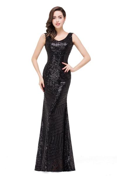 EVERLEIGH | Mermaid V-neck Sleeveless Floor-Length Sequins Prom Dresses_4