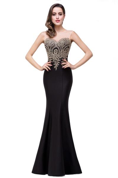Mermaid Floor-Length Sheer Prom Dresses with Rhinestone Appliques_21