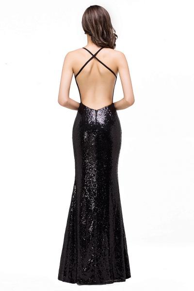 EMILY | Mermaid Sleeveless Sweetheart Floor-length Prom Dress with Sequins_3