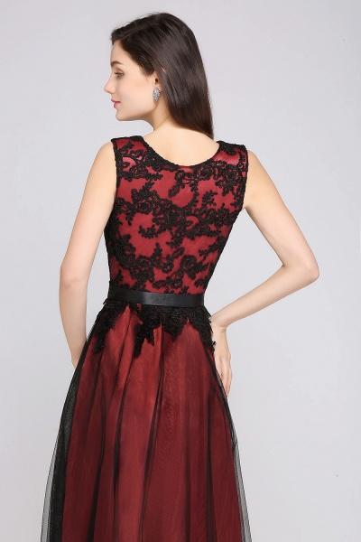 ARABELLA | A-line Scoop Floor Length Lace Cheap Evening Dresses_10