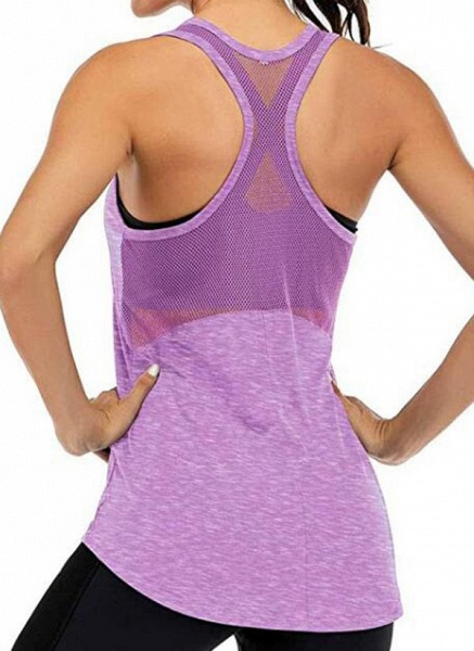Women's Athletic Casual Sporty Polyester Yoga Vest Fitness & Yoga_2