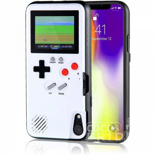 Gameboy iPhone Case with 36 Classic Games(Buy 2 Get Extra $5 OFF and Free Shipping, Code: OP5)_1