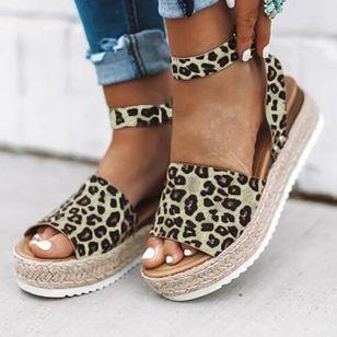 Women's Flats Cloth Flat Heel Sandals_2