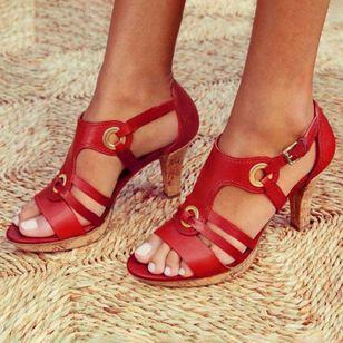 Women's Heels Flat Heel Sandals_3
