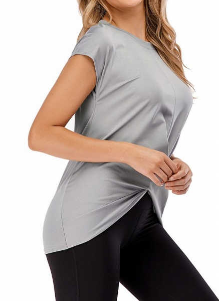 Women's Casual Polyester Fitness T-shirt Fitness & Yoga_2