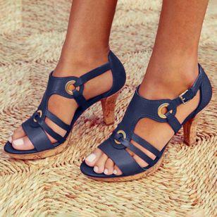 Women's Heels Flat Heel Sandals_6