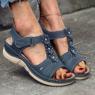 Women's Slingbacks Flat Heel Sandals Platforms_2
