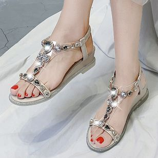Women's Buckle Slingbacks Low Heel Sandals_4