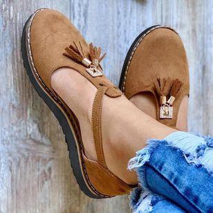 Women's Closed Toe Flat Heel Sandals_5